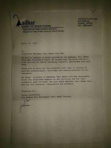 16-04-15- Book donation- Borivali