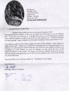 18-01-2013-Motor pump donation-Andheri (2)