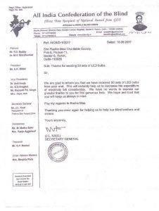 18-09-17-Bulb donation- Delhi